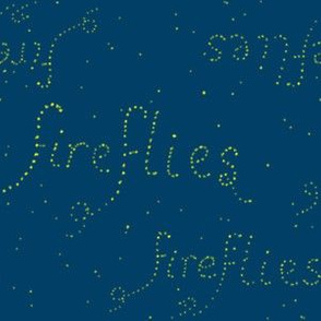 Fireflies, literally (limited palette) by Su_G
