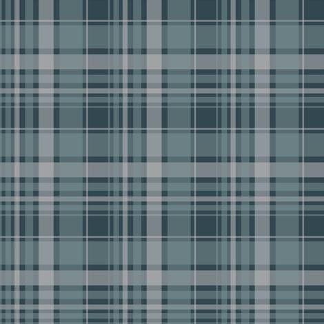 blue/ blue plaid 2014 fabric by alainasdesigns on Spoonflower - custom fabric