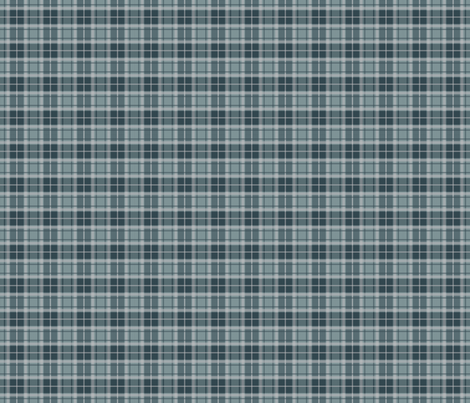 Thin Stripe blue/blue plaid fabric by alainasdesigns on Spoonflower - custom fabric