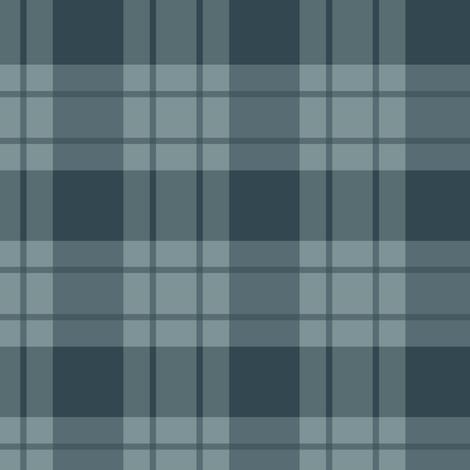 Large blue stripe/blue plaid fabric by alainasdesigns on Spoonflower - custom fabric