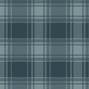 Thin Blue Stripe / Blue Plaid
