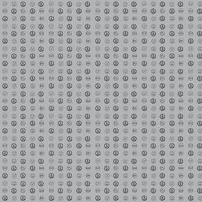 Nowhere Dot Grey Doll Sized