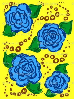 blue! roses