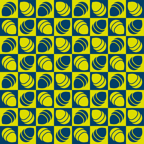 firefly bug bottom check fabric by sef on Spoonflower - custom fabric