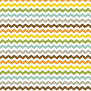 Small Colorful Chevron