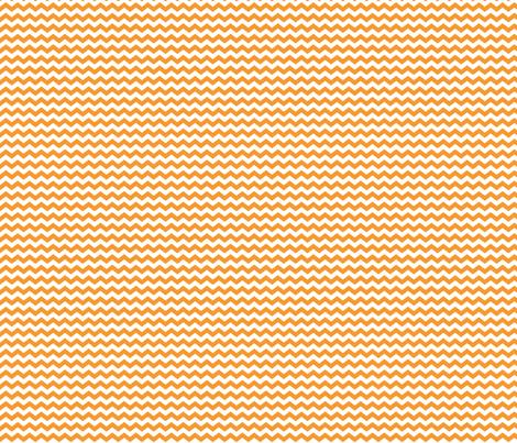 Small Orange Chevron fabric by jennifercolucci on Spoonflower - custom fabric