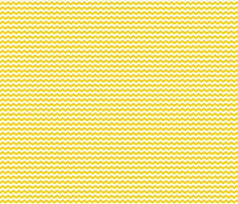 Small Yellow Chevron fabric by jennifercolucci on Spoonflower - custom fabric