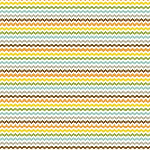 Tiny Colorful Chevron