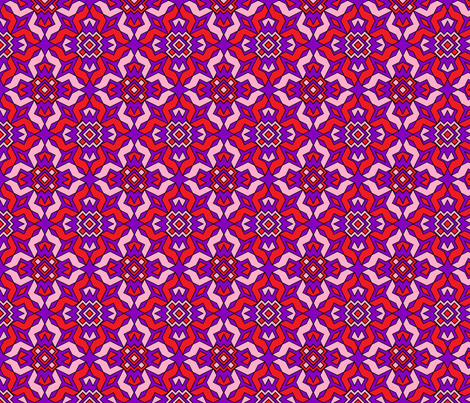 Rosy Repeats fabric by because_patterns on Spoonflower - custom fabric