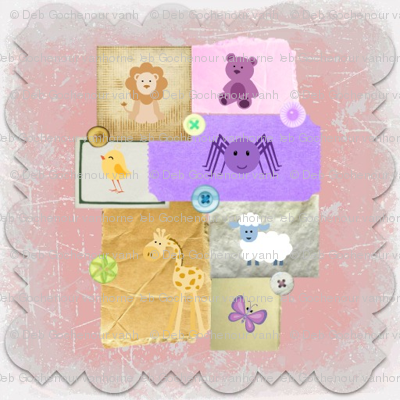 baby animal quilt blocks