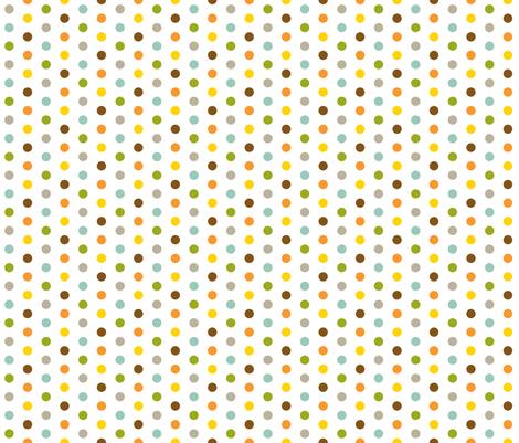 Colorful Small Dots fabric by jennifercolucci on Spoonflower - custom fabric