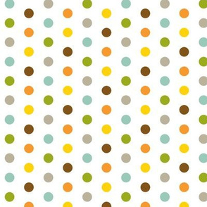 Colorful Small Dots