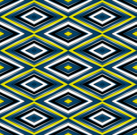 Firefly Diamonds2 Eclectic fabric by eclectic_house on Spoonflower - custom fabric