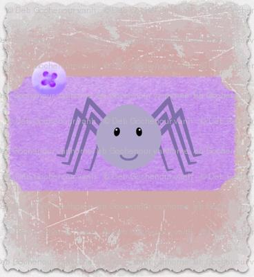 baby spider quilt block