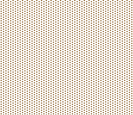 Tiny Brown Dots on White fabric by jennifercolucci on Spoonflower - custom fabric
