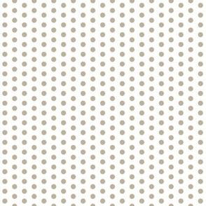 Tiny Grey Dots on White