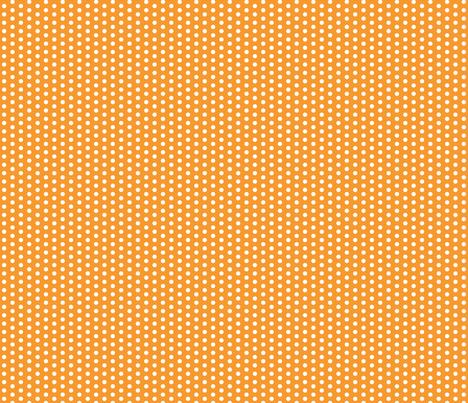 Tiny White Dots on Orange fabric by jennifercolucci on Spoonflower - custom fabric
