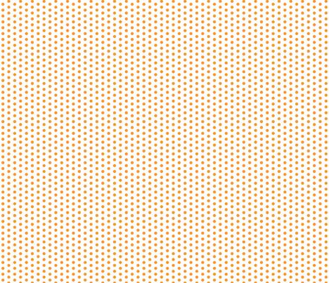 Tiny Orange Dots on White fabric by jennifercolucci on Spoonflower - custom fabric