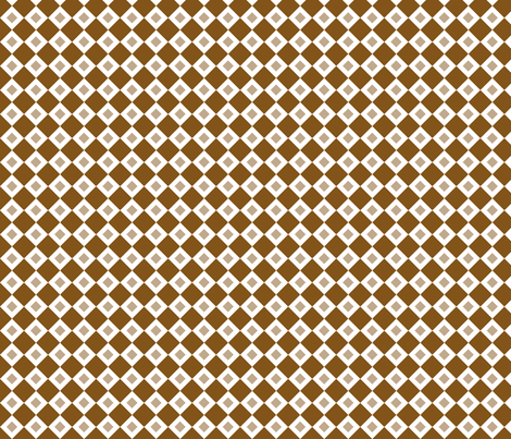 Brown Diamonds fabric by jennifercolucci on Spoonflower - custom fabric