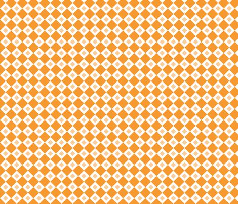 Orange Diamonds fabric by jennifercolucci on Spoonflower - custom fabric