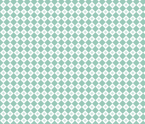 Teal Diamonds fabric by jennifercolucci on Spoonflower - custom fabric