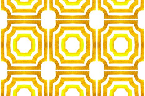 cestlaviv_lattice Sunny fabric by cest_la_viv on Spoonflower - custom fabric