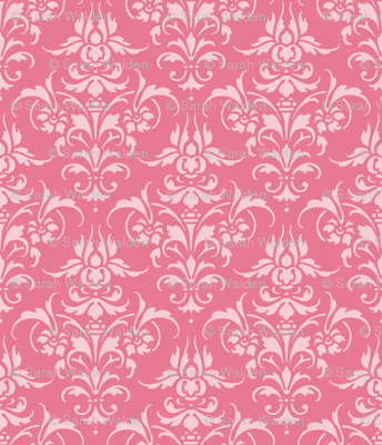 Pink Dawn ~ Pink Damask II