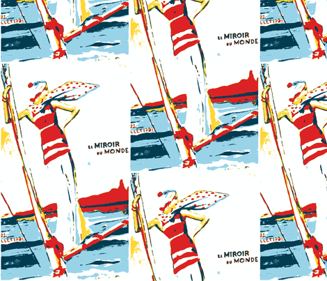 To See the World by Sea fabric by bettieblue_designs on Spoonflower - custom fabric