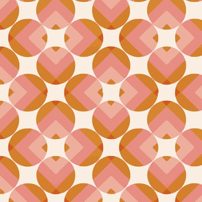 round square pink
