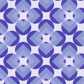 round square purple