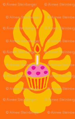 Bollywood Birthday Cake Flame
