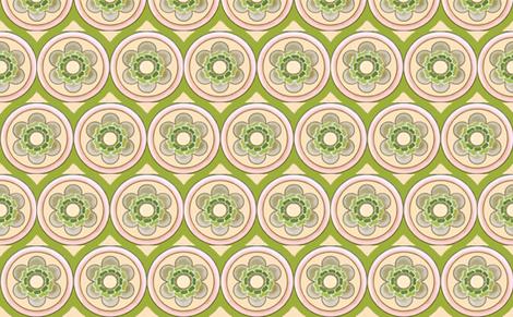 bold flowertile fabric by myracle on Spoonflower - custom fabric