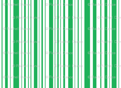 BeeHappy stripe - dark green