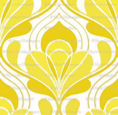 taj mahal yellow