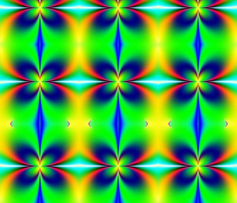 Fractal: Spring Hath Sprung fabric by artist4god on Spoonflower - custom fabric