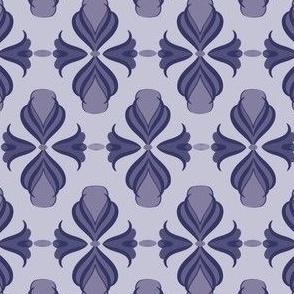 Modern Damask - Lavender