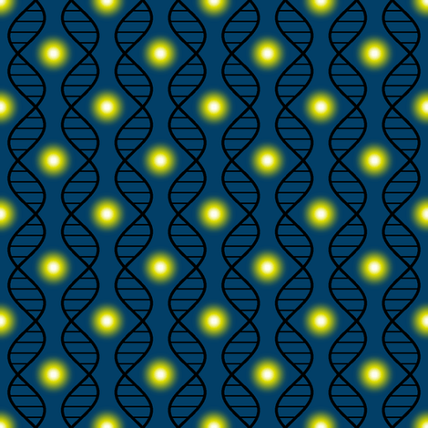 firefly DNA argyle fabric by sef on Spoonflower - custom fabric