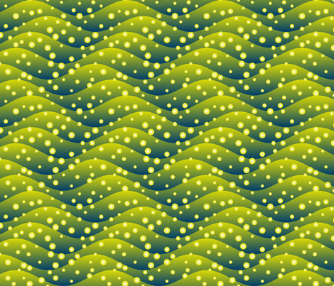 firefly swarm - hills fabric by sef on Spoonflower - custom fabric