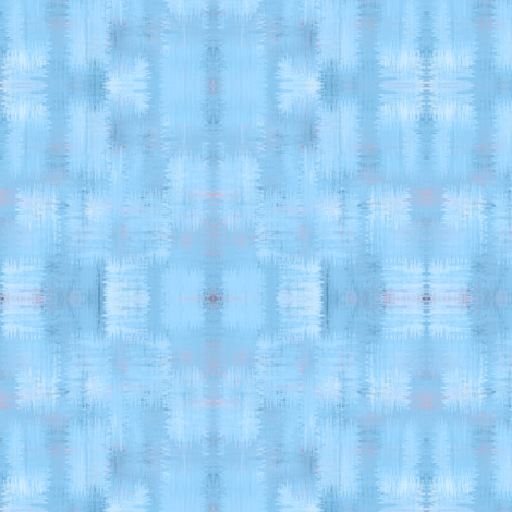 approximate plaid shades of blue fabric by glimmericks on Spoonflower - custom fabric