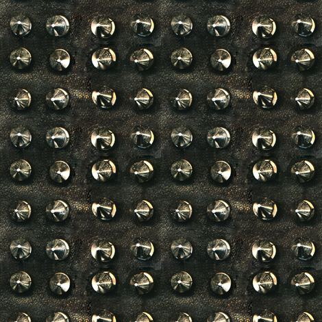 studs_on_leather fabric by susiprint on Spoonflower - custom fabric