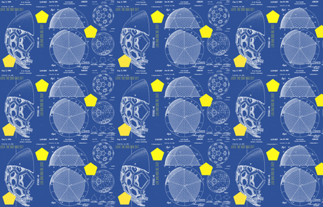 love the odd one out fabric by studiodageraad on Spoonflower - custom fabric