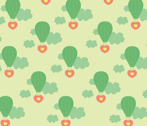 love fabric by azaliamusa on Spoonflower - custom fabric