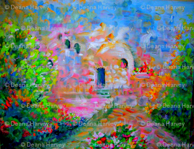 """Garden Tomb 26x16"""" Yard"""
