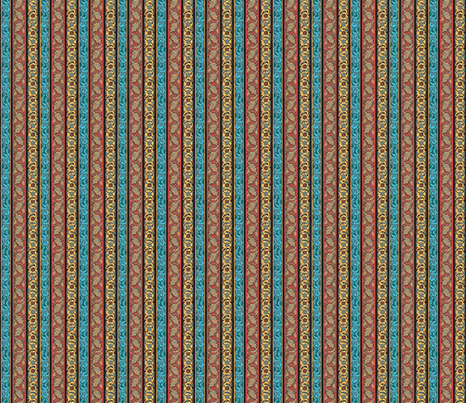 Bienengasse fabric by amyvail on Spoonflower - custom fabric