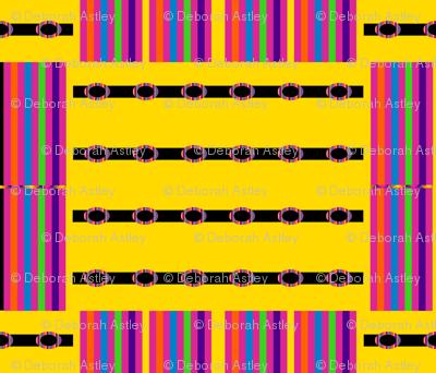 Rainbow Blocks on Yellow