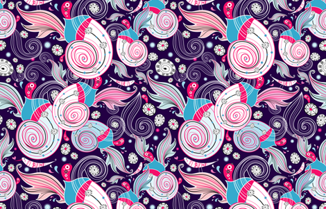 bright abstract pattern fabric by tanor on Spoonflower - custom fabric