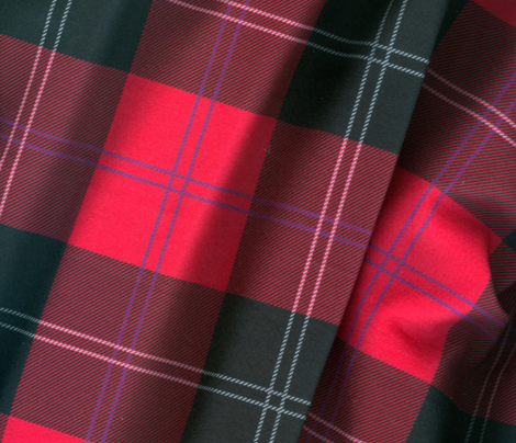 Ramsay Tartan in Red