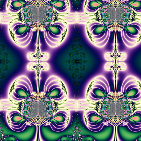 Fractal: Gift Bows fabric by artist4god on Spoonflower - custom fabric