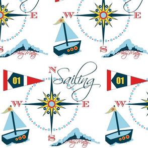 Ahoy Matey / toy boat