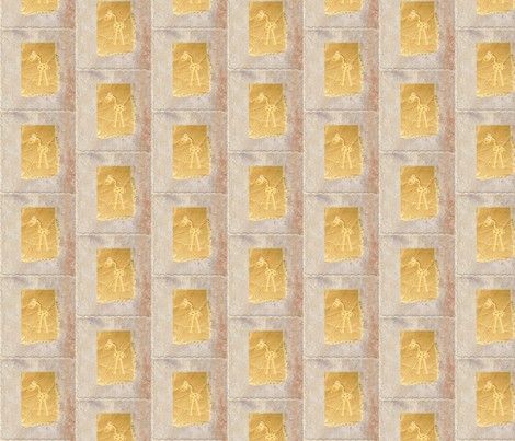 baby giraffe quilt blocks fabric by dsa_designs on Spoonflower - custom fabric